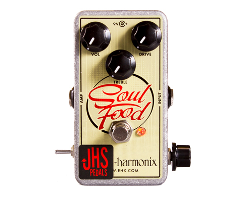 "Electro-Harmonix Soul Food ""Meat & 3"" Mod"